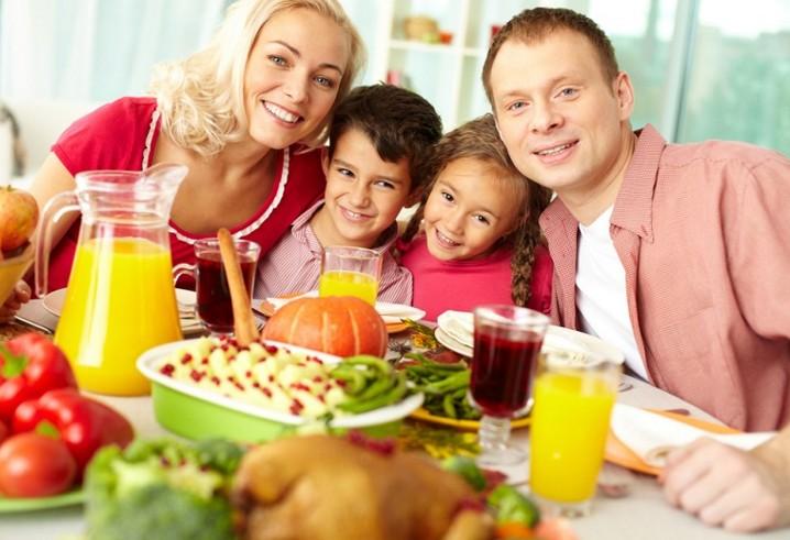 Правильное питание в семье